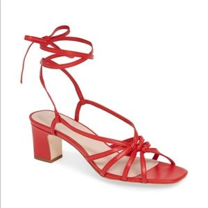 Loeffler Randall Knotted Strappy Sandal
